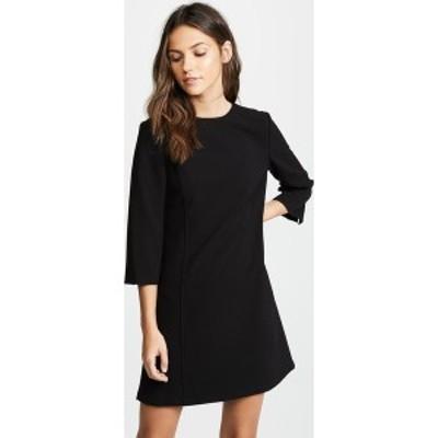 (取寄)アリス アンド オリビア レディース ジェム 3/4 スリーブ シフト ドレス alice + olivia Women's Gem 3/4 Sleeve Shift Dress Blac