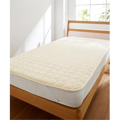 ふわっととろけるマイヤー敷きパッド(抗菌防臭加工わた入) 敷きパッド・敷パッド, ベッドパッド, Bed pats(ニッセン、nissen)
