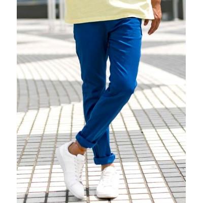 ADMIX-Japan/JETSET SOLO PLUS / カラー スキニー ストレッチ パンツ MEN パンツ > チノパンツ