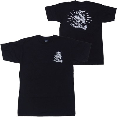 SANTA CRUZ・サンタクルーズ・SNAKE BITE・ブラック・Tシャツ