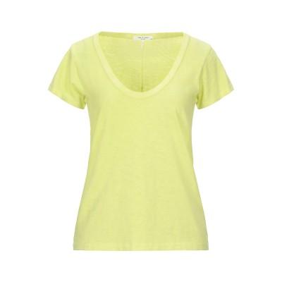 ラグアンドボーン RAG & BONE T シャツ ビタミングリーン XS ピマコットン 100% T シャツ
