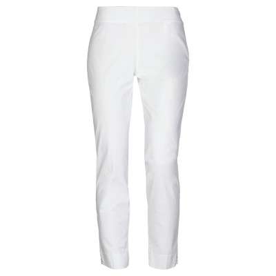 MALÌPARMI パンツ ホワイト 38 コットン 98% / ポリウレタン 2% パンツ