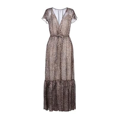 ロートレ ショーズ L' AUTRE CHOSE ロングワンピース&ドレス ベージュ 40 ポリエステル 100% ロングワンピース&ドレス
