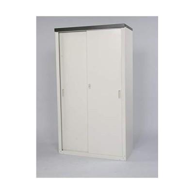 グリーンライフ(GREEN LIFE) 家庭用収納庫 ライトグレー 幅89×奥行47×高さ162cmHS-162