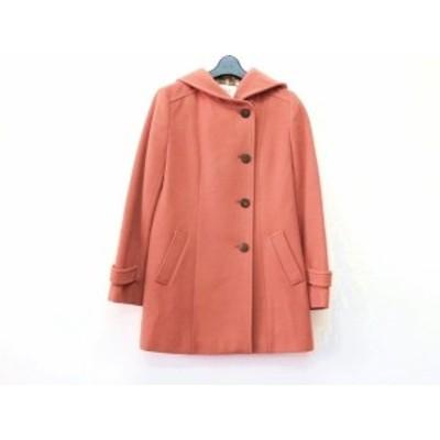 ジェイプレス J.PRESS コート サイズ11 M レディース オレンジ 冬物/RED LABEL【中古】20191006