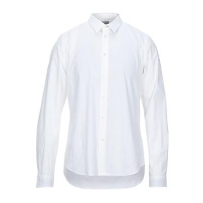 PS PAUL SMITH シャツ ホワイト XXL コットン 96% / ポリウレタン 4% シャツ
