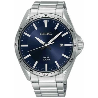 セイコー 腕時計 Seiko Uhr SNE483P1 - Watch - Gents - Solar Watch - クォーツ Watch - New