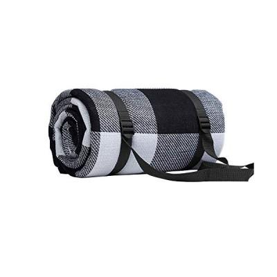 蜂の巣 厚手 レジャーシート 6mm ピクニックマット タータンチェック 防水 起毛 クッションマット アウトドア