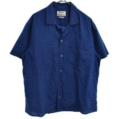 Acne Studios (アクネ スティディオス) 16SS ODY POCKT PSS16 胸ポケット オープンカラー半袖シャツ