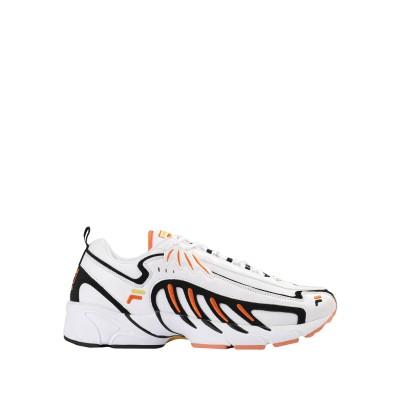 FILA スニーカー&テニスシューズ(ローカット) ホワイト 40 紡績繊維 スニーカー&テニスシューズ(ローカット)