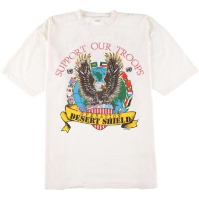 湾岸戦争 プリントTシャツ USA製 メンズXXL /eaa160487