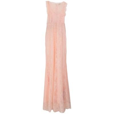 リュー ジョー LIU •JO ロングワンピース&ドレス ピンク 40 ナイロン 100% ロングワンピース&ドレス