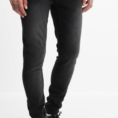 ブレンド メンズ ファッション Slim fit jeans - denim black