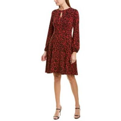 ロンドンタイムス レディース ワンピース トップス London Times A-Line Dress red and black