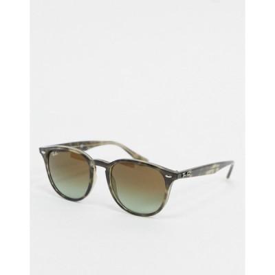 レイバン レディース サングラス&アイウェア アクセサリー Ray-ban round sunglasses in tort and gray ORB4259 Brown