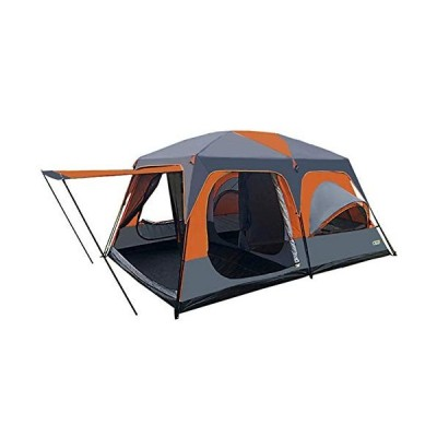 MJLING Outdoor Waterproof Camping Tents for 8-12 Person, Double Layer Waterproof Windproof, for Family, Outdoor, Hiking and Mountaineering並行輸入