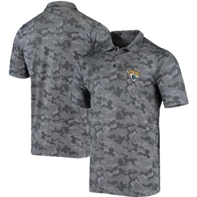 """メンズ ポロシャツ """"Jacksonville Jaguars"""" Antigua Sergeant Polo - Black"""