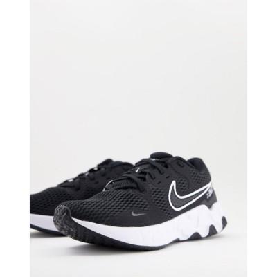 ナイキ Nike メンズ ランニング・ウォーキング シューズ・靴 Running Renew Ride 2 trainers in black ブラック