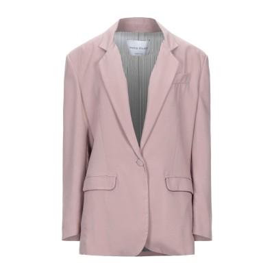 HEBE STUDIO テーラードジャケット パステルピンク 40 レーヨン 100% テーラードジャケット