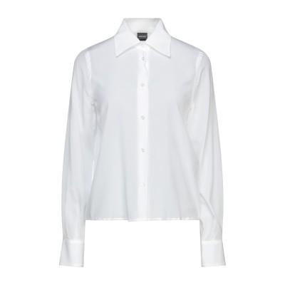 アスペジ ASPESI シャツ ホワイト 40 シルク 91% / ポリウレタン 9% シャツ