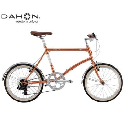ミニベロ・小径車 2021 DAHON ダホン CALM カーム ドライオレンジ 7段変速 ホイール径20インチ