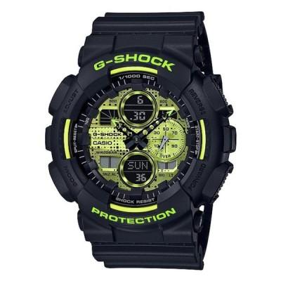ジーショック メンズ 腕時計 アクセサリー Ana Digi Black Resin Shock Resistant Watch