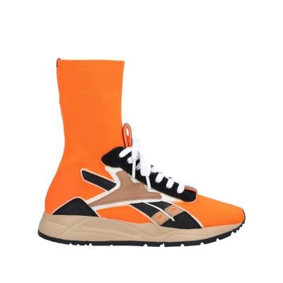 REEBOK x VICTORIA BECKHAM スニーカー&テニスシューズ(ハイカット) オレンジ 8 紡績繊維 / 革 スニーカー&テニスシュ