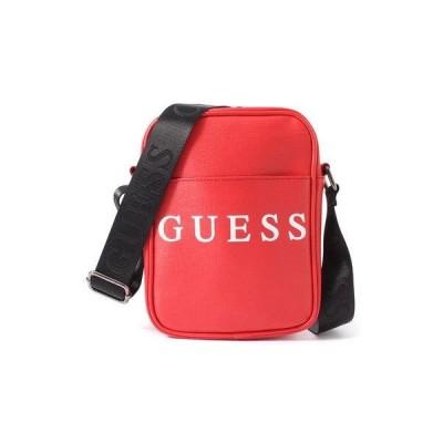ゲス GUESS OUTFITTER MINI CROSSBODY 【ONLINE EXCLUSIVE ITEM(ネット限定)】 (RED)