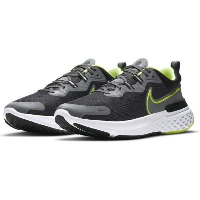 ナイキ NIKE メンズ ランニング・ウォーキング シューズ・靴 React Miler 2 Running Shoe Grey/Green/Black