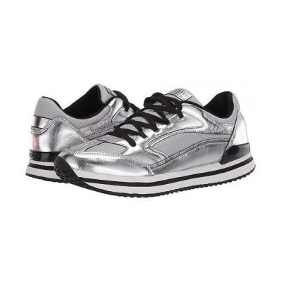 SKECHERS Street レディース 女性用 シューズ 靴 スニーカー 運動靴 St. Racer - Fashion Flash - Grey/Silver