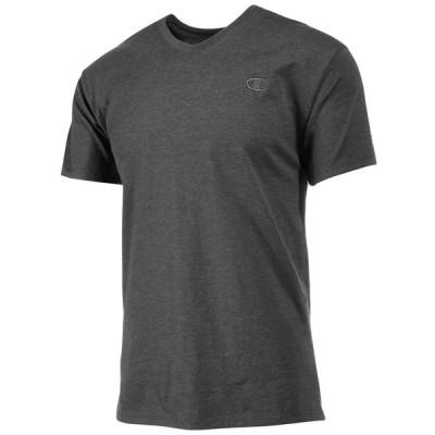 チャンピオン Champion メンズ Tシャツ Vネック トップス Classic Jersey V-Neck T-Shirt Granite Heather