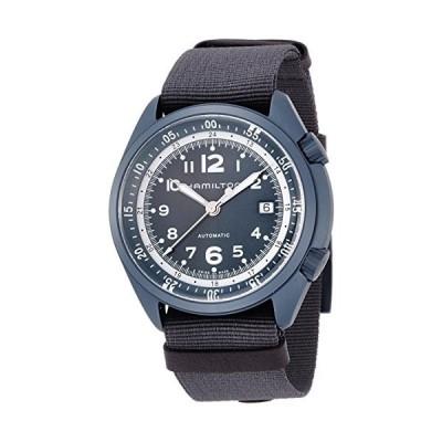 腕時計 ハミルトン メンズ H80495845 Hamilton Men's Khaki Aviation Swiss-Automatic Watch with Canvas