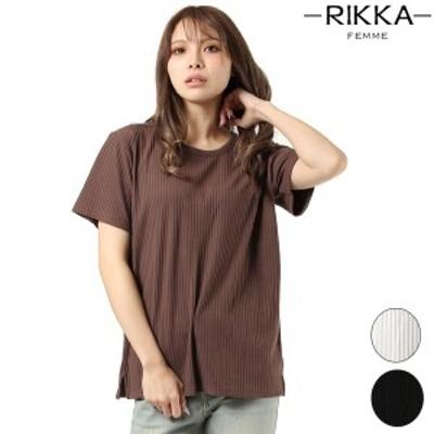 ムラサキスポーツ(murasaki sports)/【RIKKA FEMME/リッカファム】Tシャツ R20S004