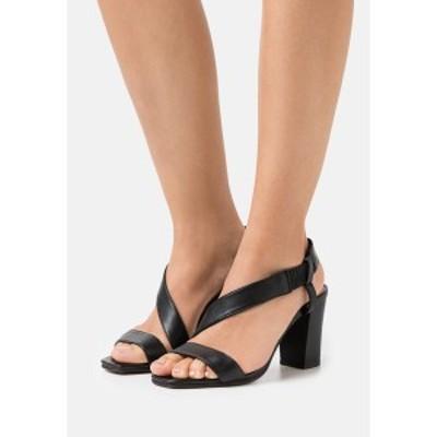スティーブン ニューヨーク レディース サンダル シューズ LEXY - Sandals - black black