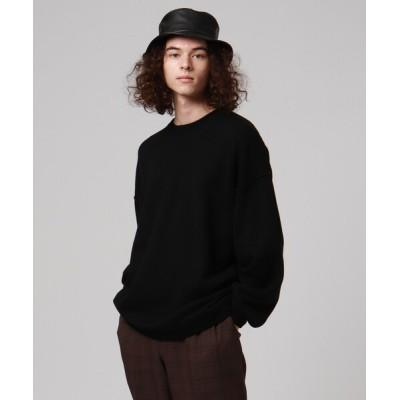tk.TAKEO KIKUCHI / ナメラカパイル編みクルーニット MEN トップス > ニット/セーター
