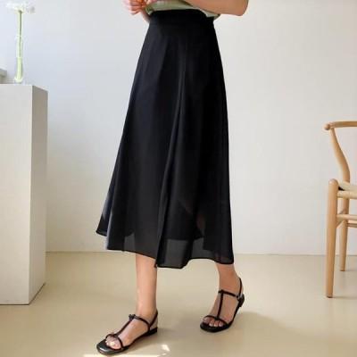 レディース スカート Tab Slit Skirt