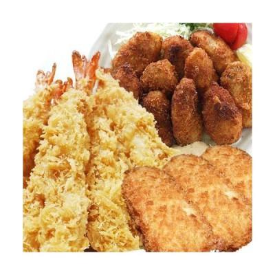 ジャンボフライ福袋[冷凍](ジャンボ海老[エビフライ]・カキ・グラタン蟹コロッケ入り)