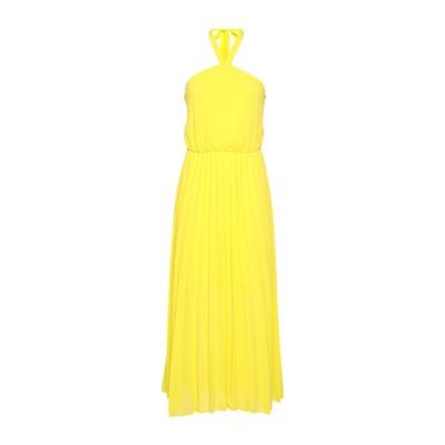 ベルナ BERNA ロングワンピース&ドレス イエロー M ポリエステル 100% ロングワンピース&ドレス
