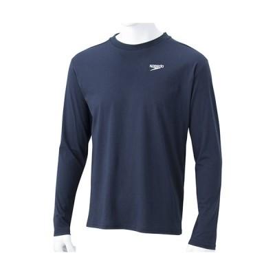 スピード(speedo) メンズ ロングスリーブ スタンダード Tシャツ L/S Standard Tee ネイビーブルー SA31911 NB 長袖 トップス トレーニング スポーツウェア