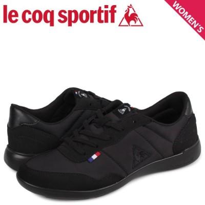 ルコック スポルティフ le coq sportif セギュール 3 ワイド スニーカー レディース SEGUR 3 WIDE ブラック 黒 QL3NJC05BK
