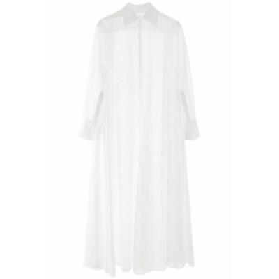 VALENTINO/バレンチノ シャツドレス BIANCO Valentino long shirt dress レディース 春夏2020 TB0AB1C55J3 ik