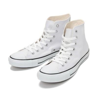 コンバース(CONVERSE) レディース スニーカー LEA オールスター HI ホワイト 32044990 カジュアルシューズ 靴 ハイカット