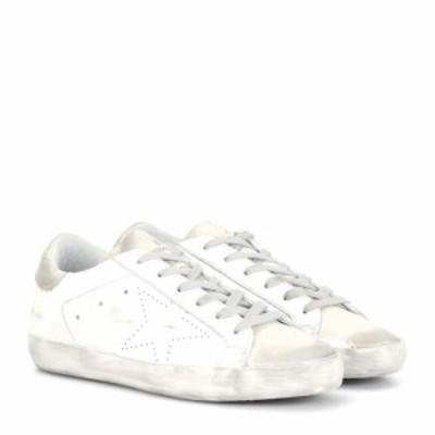 ゴールデン グース Golden Goose レディース スニーカー シューズ・靴 Superstar leather sneakers White Skate