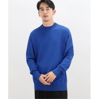 【エディフィス】 SAGE WASHABLE MELLOW C/N メンズ ブルーA S EDIFICE