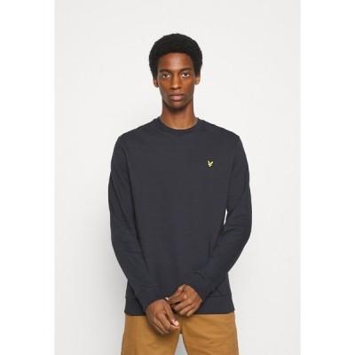 ライルアンドスコット パーカー・スウェットシャツ メンズ アウター RIPSTOP PANEL - Sweatshirt - dark navy