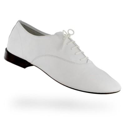 正規取扱店 repetto Oxford shoe Zizi for men Goatskin White やぎ革 ホワイト (レペット ジジ メンズ )