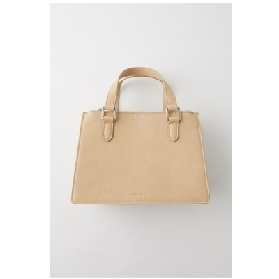 moussy DOUBLEZIPSHOULDERバッグ ライトベージュ