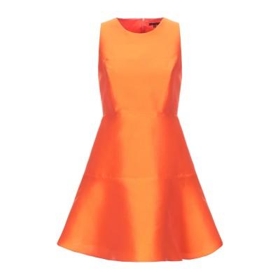 タラ ジャーモン TARA JARMON ミニワンピース&ドレス オレンジ 36 ポリエーテル 85% / シルク 15% ミニワンピース&ドレス
