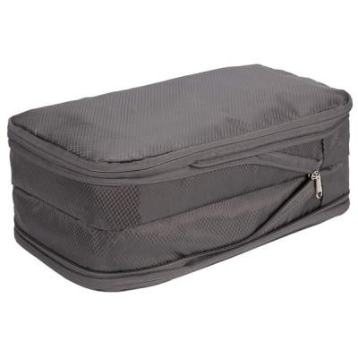 圧縮バッグ 旅行圧縮バッグ 収納バッグ ファスナー圧縮 出張 旅行 便利グッズ 圧縮トラベルポーチ 衣類仕分け ファスナー圧縮で衣類スペース50%節約