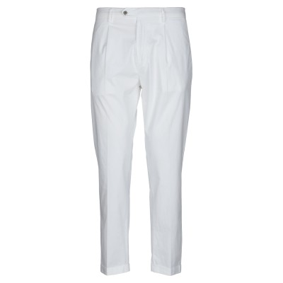 BE ABLE パンツ ホワイト 32 コットン 98% / ポリウレタン 2% パンツ